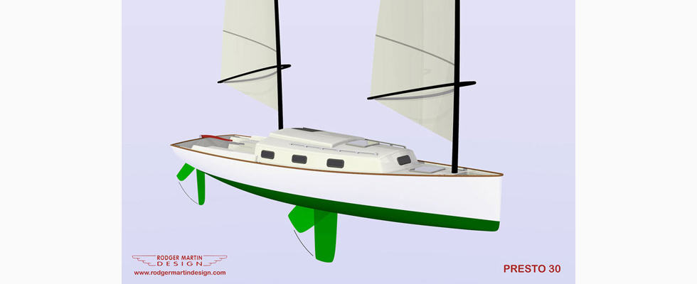 Presto 30 Rodger Martin Design